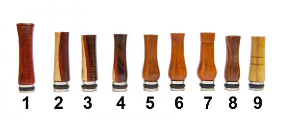 Drip Tips Unikate aus Holz