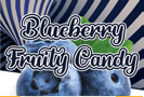 Blueberry Fruity Candy Flavour Art